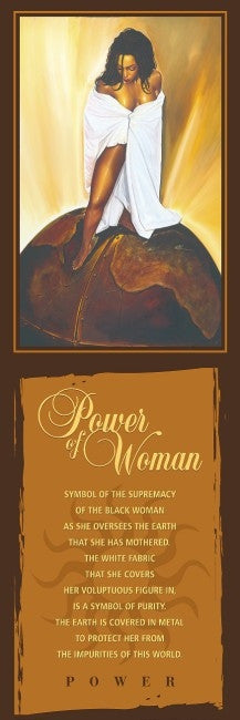 Power of Woman - statement - 36x12 print - WAK