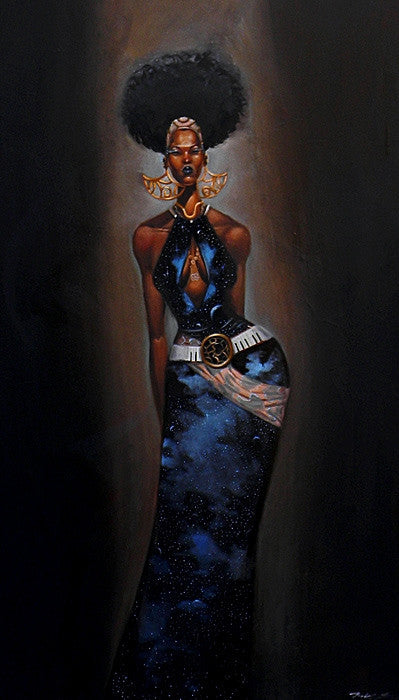 Universoul - 20x38 giclee - Frank Morrison