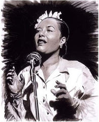 Billie Holliday - 12x16 print - Leonard Freeman