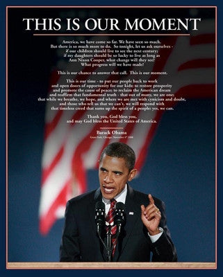 Barack Obama This is Our Moment - 20x16 - print - MPP50254 - Anon