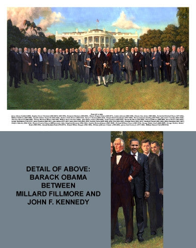 The Presidents - 24x36 - print - Carl Braude