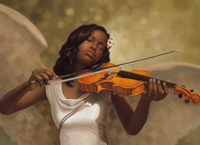Melody From Heaven - 24x36 print - Henry Lee Battle