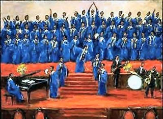Gospel Soul Choir - 16x20 print - Ted Ellis - AV732