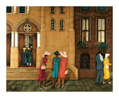 Church Sisters - 23x28 - limited edition giclee - Answerd Stewart