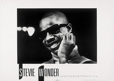 Stevie Wonder - 19x27 - photo poster - LF16