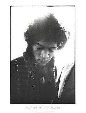 Hendrix - 31x23 - photo poster - Alain Dister - 5410