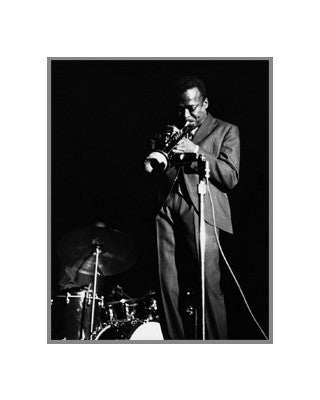 Miles Davis - 20x16 - photo poster - Lee Tanner - 2682