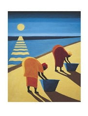 Beach Bums - 31x23 - print - Tilly Willis