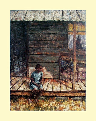 God Bless The Child - 28x22 - print - Frank Cardozo Nicholas