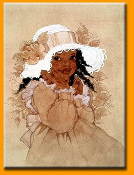 My New Bonnet - 16x20 print - Sylvia Walker