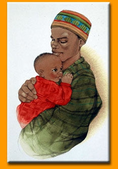 Father Love I - 18x24 print - Sylvia Walker
