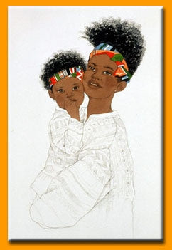 Mothers Love 1 - 16x22 print - Sylvia Walker