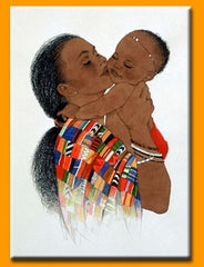 Mother Love II - 18x24 print - Sylvia Walker
