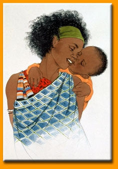 Mother Love III - 18x24 print - Sylvia Walker