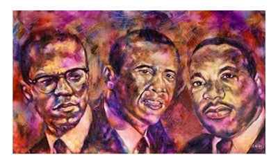 Three Trailblazers - 16x27 - print - Andrew Nichols