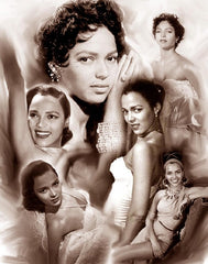 Dorothy Dandridge - 24x20 print - Wishum Gregory