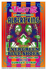 Albert King 1968 Whisky A Go Go Los Angeles - 19x13 - concert poster - Dennis Loren