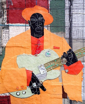 Player in Town - 18x15 limited edition giclee - Willie Torbert