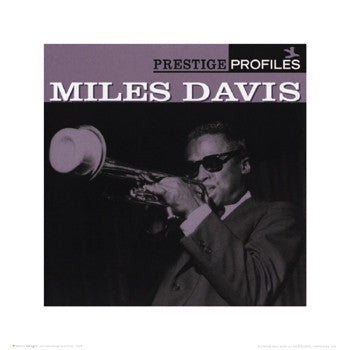 Miles Davis Profiles - 16x16 - album cover poster - Anon