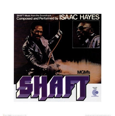 Shaft - 16x16 - album cover poster - Anon