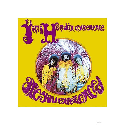 Jimi Hendrix Experience Are You Experienced - 15x15 - album cover poster