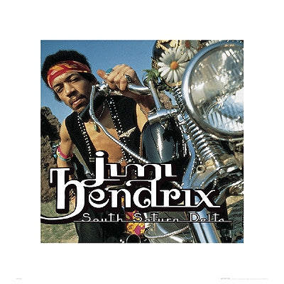 Jimi Hendrix South Saturn Delta - 16x16 - album cover poster