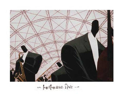 Hothouse Five - 22x28 - print - Darryl Daniels