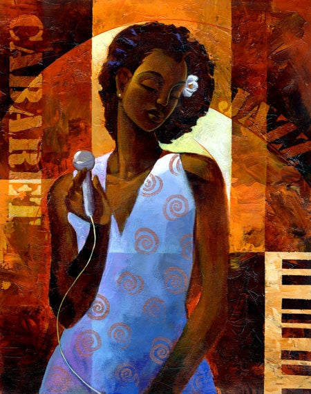 Diva - 11x14 limited edition giclee on canvas - Keith Mallett