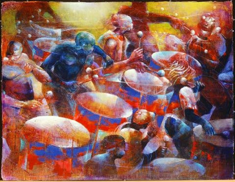 Musical Thunder - 50x38 limited edition print - Paul Goodnight