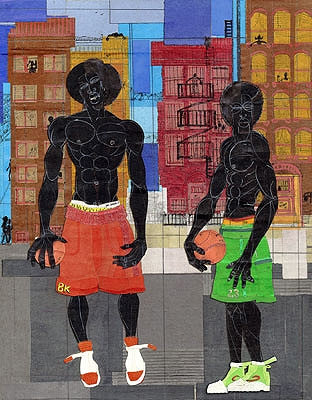 BK Hoop Stars - 25x20 limited edition giclee - Willie Torbert