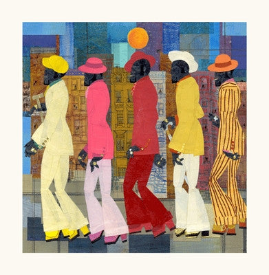 Five Deep - 24x24 limited edition giclee - Willie Torbert
