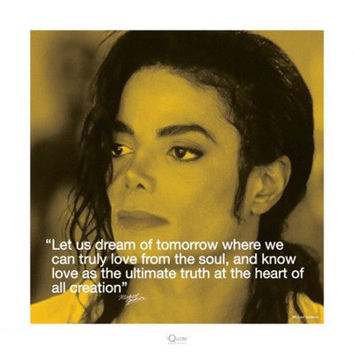 Michael Jackson Dream - 16x16 - poster