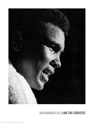 Muhammad Ali The Greatest - 24x18 - print - Anon