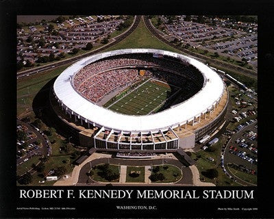 RFK Stadium Washington DC - 22x28 - poster - Mike Smith