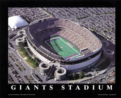 Giants Stadium East Rutherford NJ - 22x28 - poster - Brad Geller
