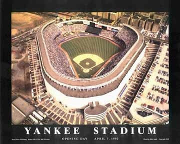 Yankee Stadium Bronx New York - 22x28 - poster - Mike Smith
