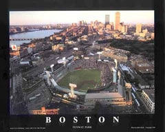 Boston Massachusetts Fenway Park - 22x28 - poster - Mike Smith