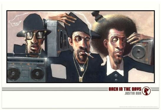 Back In The Days - 24x36 print - Justin Bua