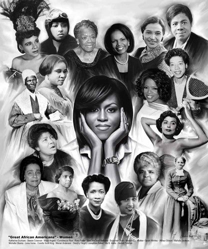 Great African American Women - 24x20 print - Wishum Gregory