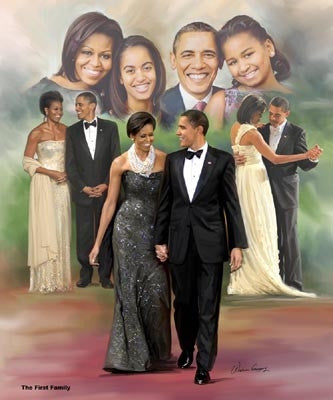 The First Family - 24x20 print - Wishum Gregory