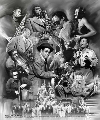 All Thats Jazz - 24x20 print - Wishum Gregory