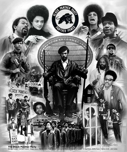 The Black Panther Party - 24x20 print - Wishum Gregory