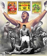 Ali I Am The Greatest - 24x20 print - Wishum Gregory