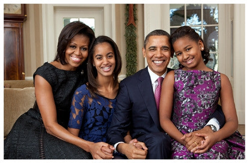The First Family The Obamas - 11x17 - print - Anon