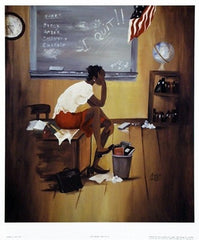 5th Grade Substitute - 19x22 print - Annie Lee