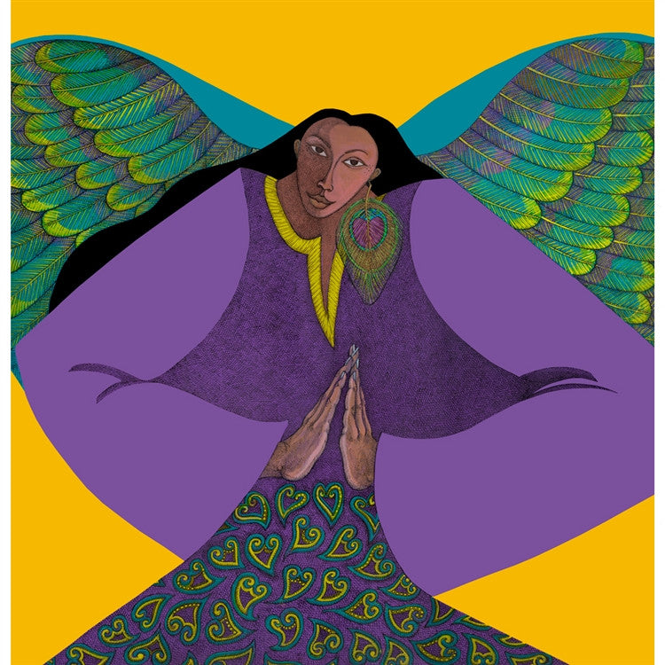 Angel of Golden Light - limited edition giclee - Charles Bibbs
