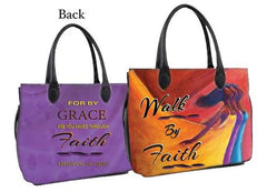 Walk by Faith - bible bag