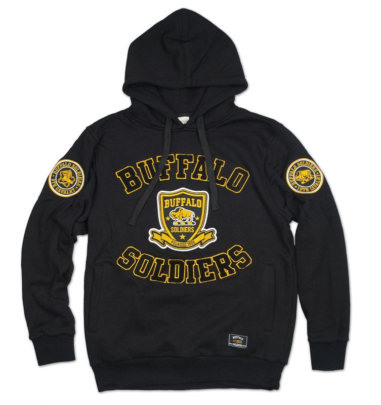 Buffalo Soldiers jacket - hoodie - BHC