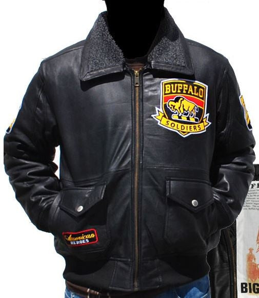 Buffalo Soldiers jacket - leather - BLJC