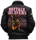 Buffalo Soldiers jacket - leather - BLJD